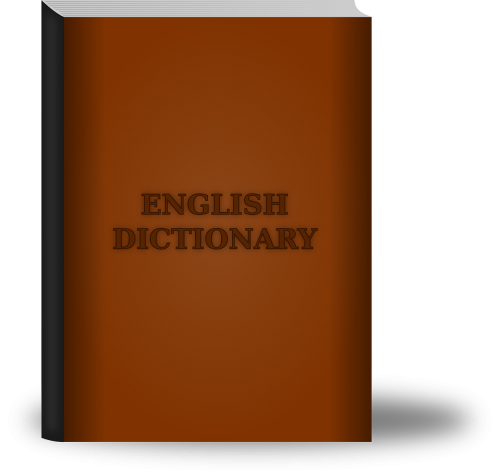 dictionary book english