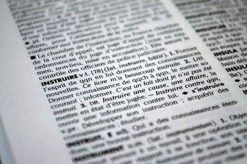 dictionary book teach