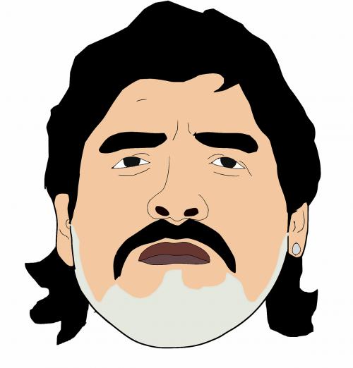 diego maradona football maradona