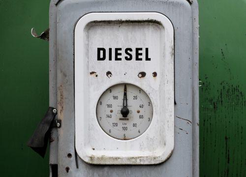diesel fuel gauge petrol stations