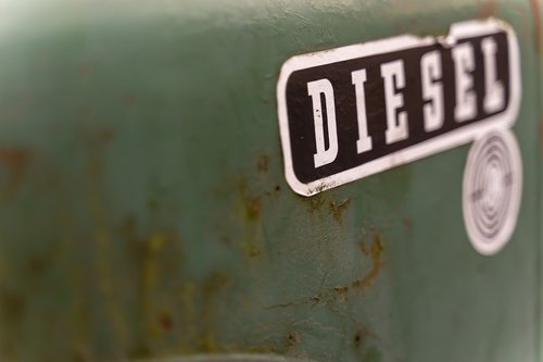 diesel  tractor  old