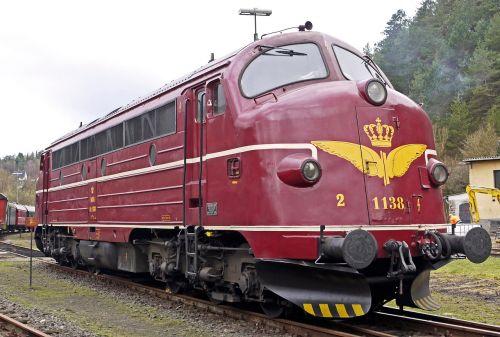 diesel locomotive nohab round nose