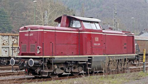 diesel locomotive mainline deutsche bundesbahn