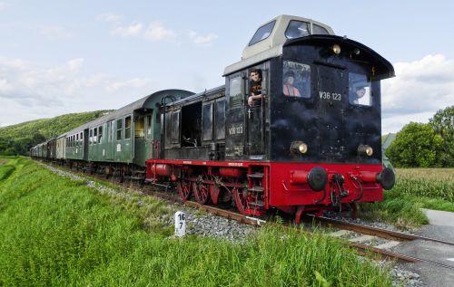 diesel locomotive museum railway wiesenttal bahn