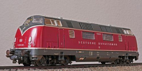 diesel locomotive v 200 classic