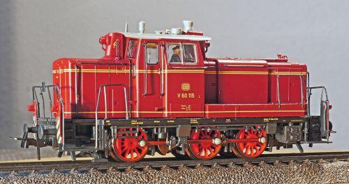diesel locomotive switcher deutsche bundesbahn