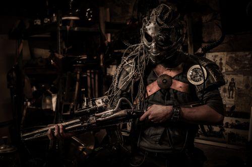 Diesel Punk Warrior