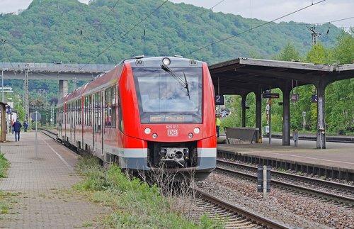 diesel railcar  deutsche bahn  nationwide