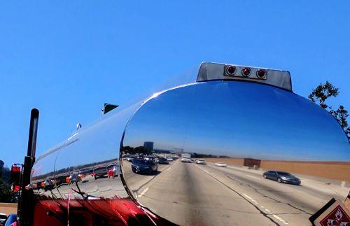 Diesel Truck Reflection