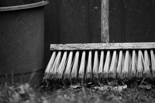 diet bucket bucket and broom