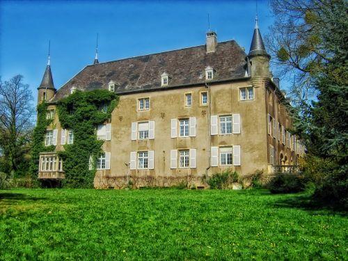 differdange castle luxembourg landmark