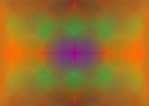 Diffused Colour Grid 2
