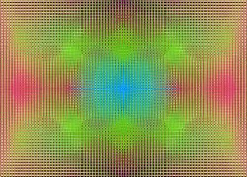 Diffused Colour Grid
