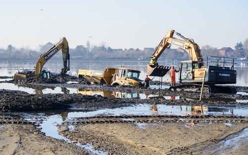 digger  mud  digging