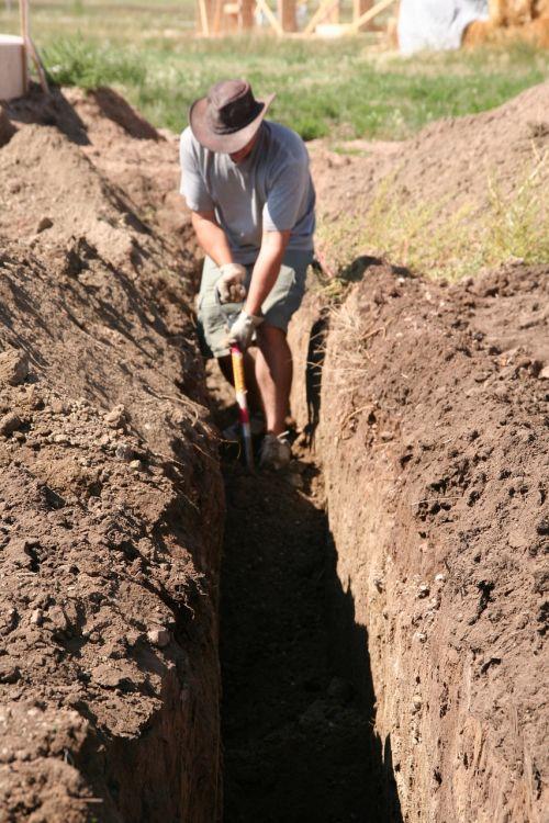digging man work