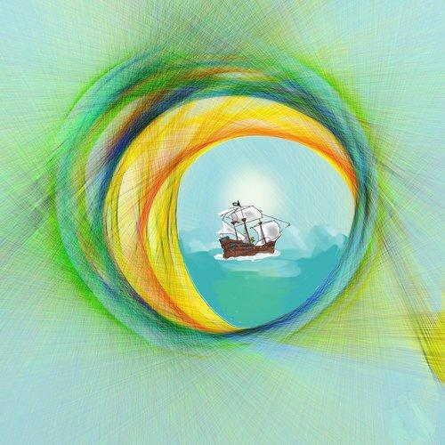 digital  porthole  sea