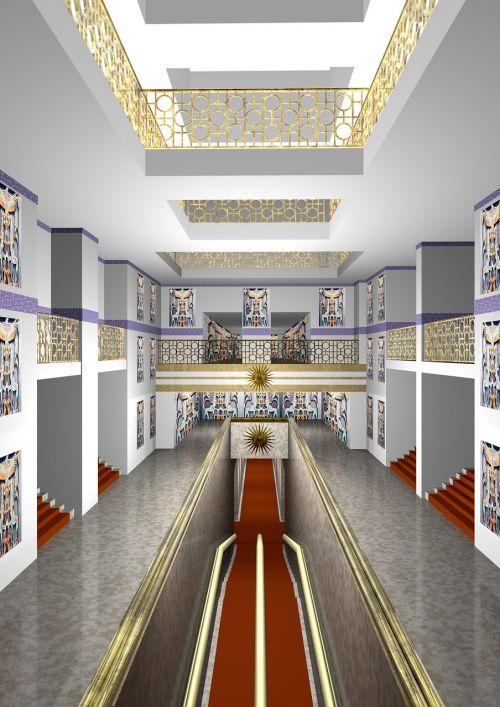 digital art architecture 3d