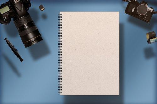 digital camera  notebook  camera