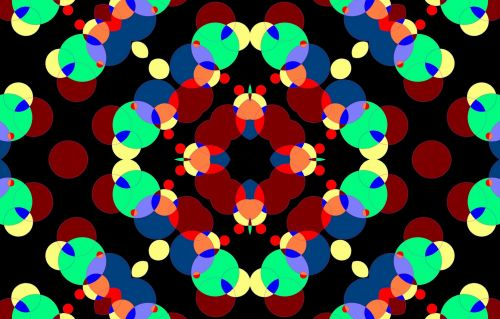 Digital Pattern Kaleidoscope