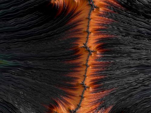 digitization seam hair