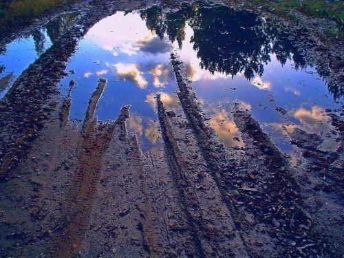 dimension mud reflection