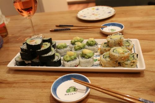 diner sushi home made