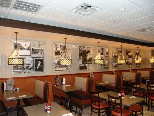 diner restaurant tables