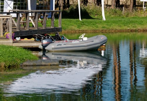 dinghy boat water