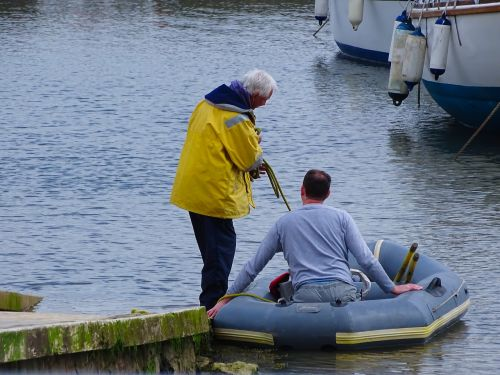 dingy boat harbour