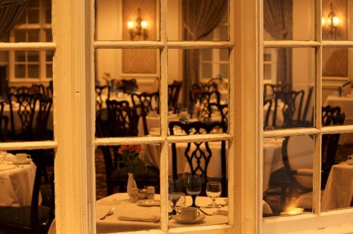 dining room restaurant window