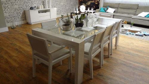dining table dining room decoration