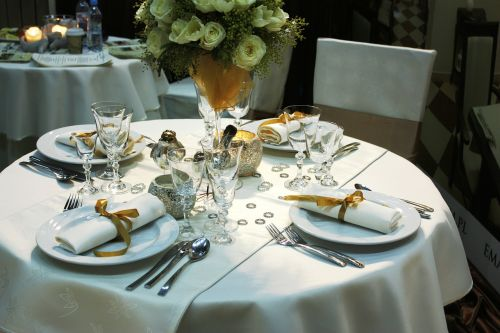 dining table table cutlery tableware