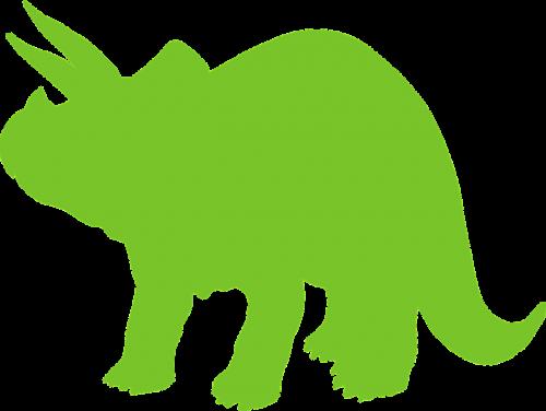 dino triceratops horns