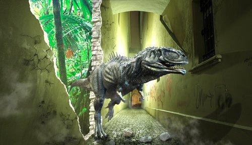 dino  time travel  prehistoric times