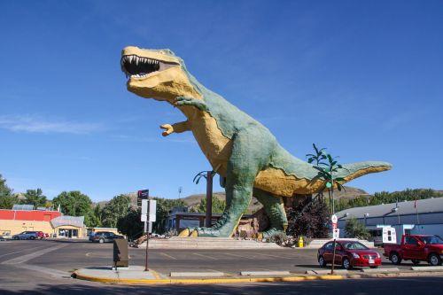 dinosaur drumheller canada