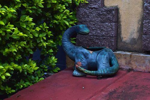 dinosaur brontosaurus reptile