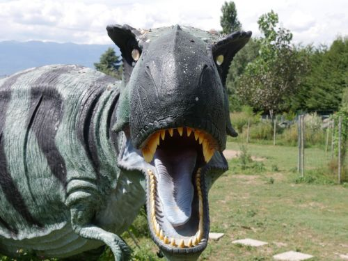dinosaur tiranosaure monster