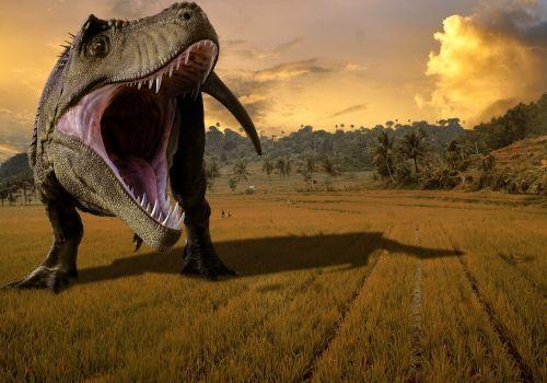 dinosaur nature monster