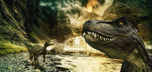 dinosaur  t rex  raptor