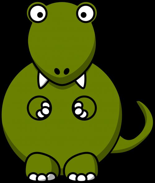 dinosaur tyrannosaurus fat