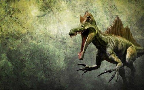 dinosaur  dino  spinosaurus