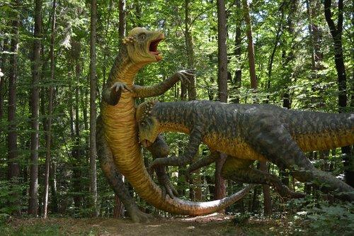 dinosaur  prehistoric times  giant lizard