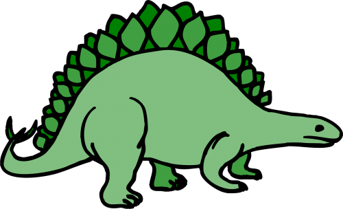 dinosaur stegosaurus ancient