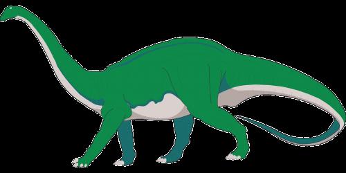 dinosaur long neck