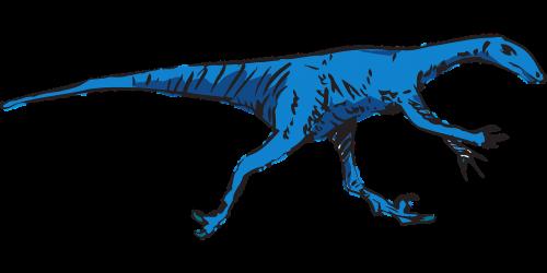 dinosaur running prehistoric
