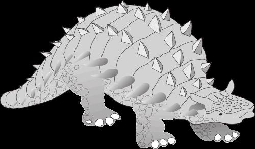 dinosaur ancient spikes