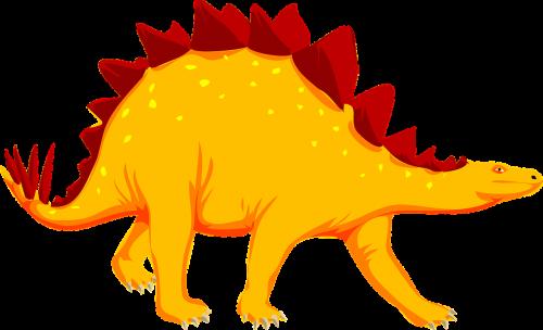 dinosaur stegosaurus animal