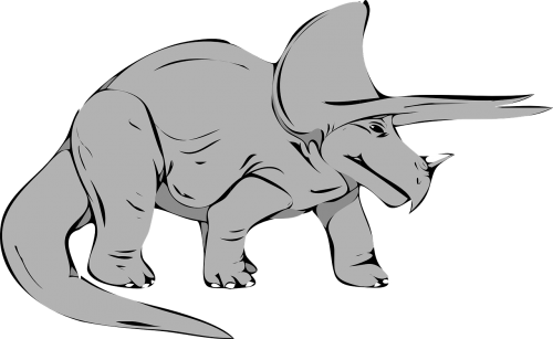 dinosaur triceratops extinct