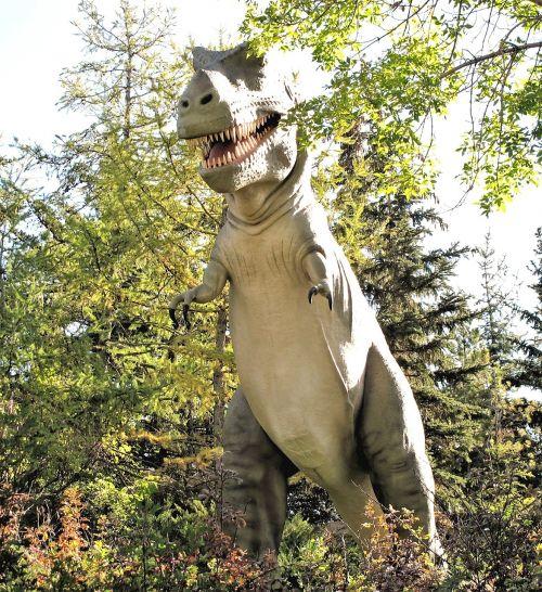 dinosaur canada zoo dinosaur park
