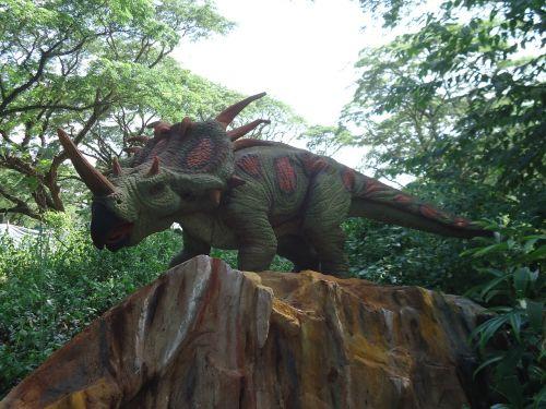 dinosaur triceratops jurassic